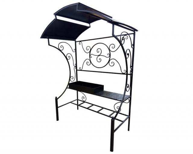 Купить большой мангал с крышей Воронеж XL. Купить дачный или садовый уличный мангал с накрытием в Воронеже по низкой цене от производителя.