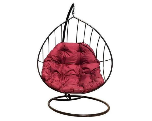 Купить Большие дизайнерские садовые качели Воронеж Кокон. Купить дачные или садовые большие качели с подушкой в Воронеже по низкой цене от производителя.