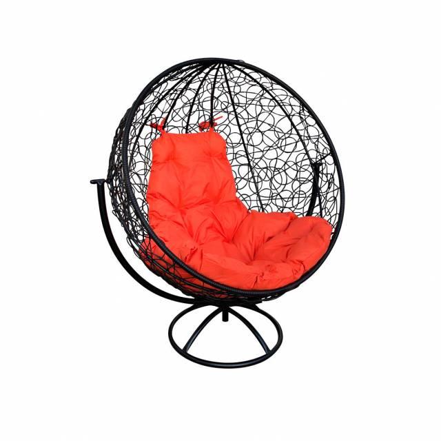 Кресло кокон круглое вращающееся, ротанг. Купить Кокон Воронеж