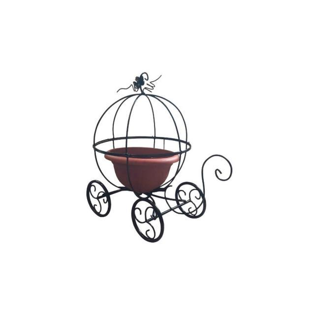 Садовая цветочница Карета Тыква Воронеж. Купить недорогую садовую декоративную фигуру для дачи