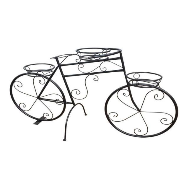 Садовая фигура Велосипед Аист Воронеж. Купить недорогую садовую декоративную фигуру для дачи