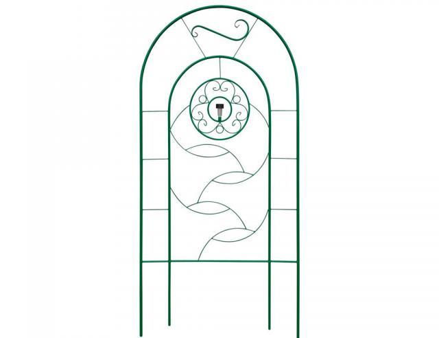 Пергола для цветов с фонариком Воронеж. Купить недорогую садовую перголу с фонариком для дачи