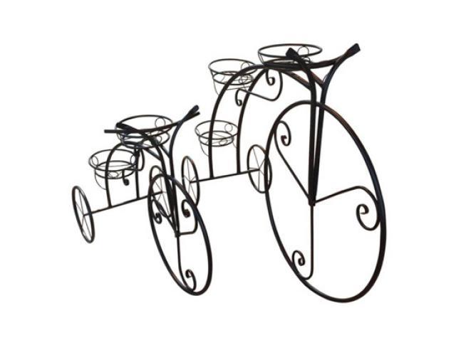 Садовая фигура Велосипед Воронеж. Купить недорогую садовую декоративную фигуру для дачи