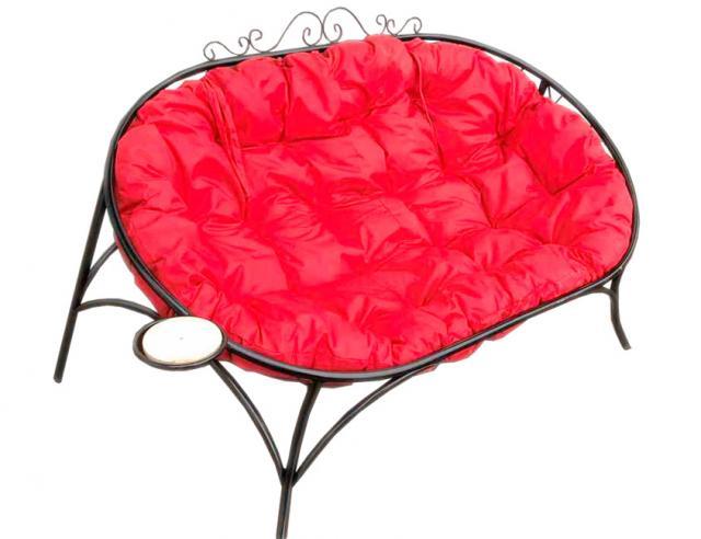 Купить Уличный садовый диванчик с матрасом Воронеж. Купить дачные или садовый диван с подушкой в Воронеже по низкой цене от производителя.