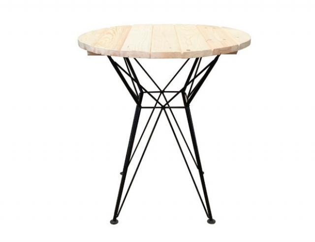 Купить садовый дачный стол Эльф круглый Воронеж. Купить недорогой круглый стол для приусадебного участка, дачи.