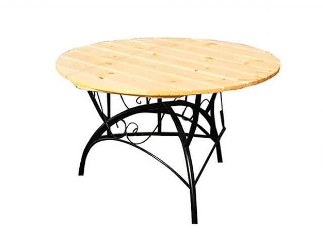 Купить садовый дачный стол круглый Воронеж. Купить недорогой круглый стол для приусадебного участка, дачи.